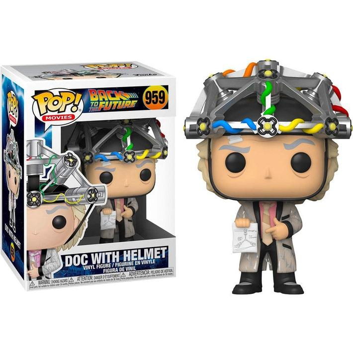 Funko Pop Doc with Helmet Back To the Future - 959
