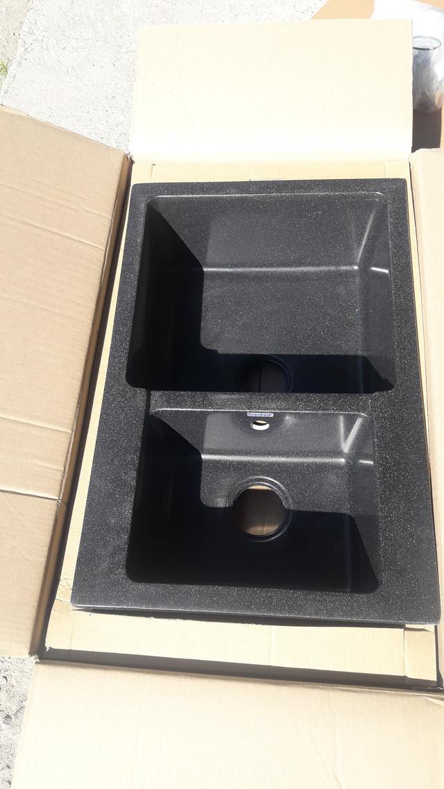 Кухонная мойка GranFest Practic GF-P780K черная