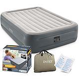 Надувная кровать Intex 64126 (152х203х46 см, эл. насос), фото 4