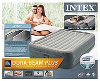 Надувная кровать Intex 64126 (152х203х46 см, эл. насос), фото 1
