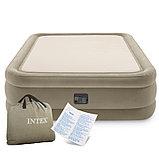 Двуспальная надувная кровать со встроенным электрическим насосом Intex Prime Comfort 64478 (152-203-51 см), фото 6