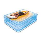 Двуспальная надувная кровать со встроенным электрическим насосом Intex Prime Comfort 64478 (152-203-51 см), фото 2