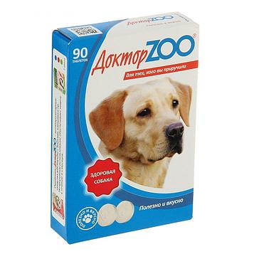 Витамины для собак Доктор ZOO Здоровая собака