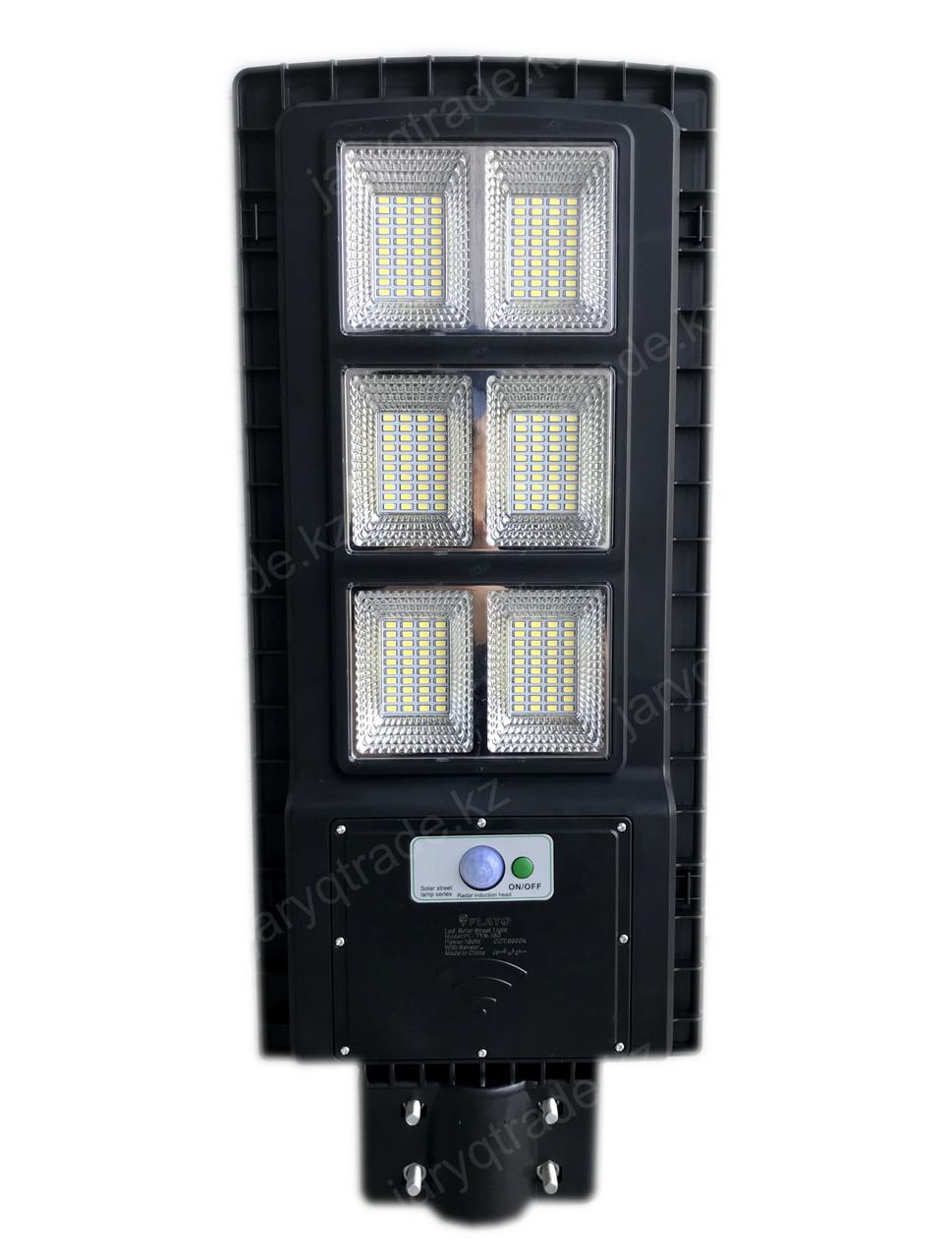 Уличный светодиодный светильник на солнечной батарее PLATO 180 W