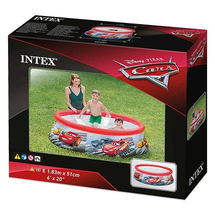 """Надувной детский бассейн Intex 28103 """"Тачки"""" (габариты:183*51 см), фото 2"""