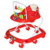 BAMBOLA Ходунки СЧИТАЛКА (8 колес,игрушки,муз)  (62*53*60) RED красный