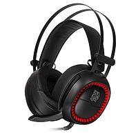 Наушники с микрофоном Tt eSports SHOCK PRO RGB 7.1, HT-SHK-DIECBK-25, фото 1