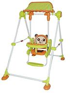 Детская качеля напольная 108 зеленый, фото 1