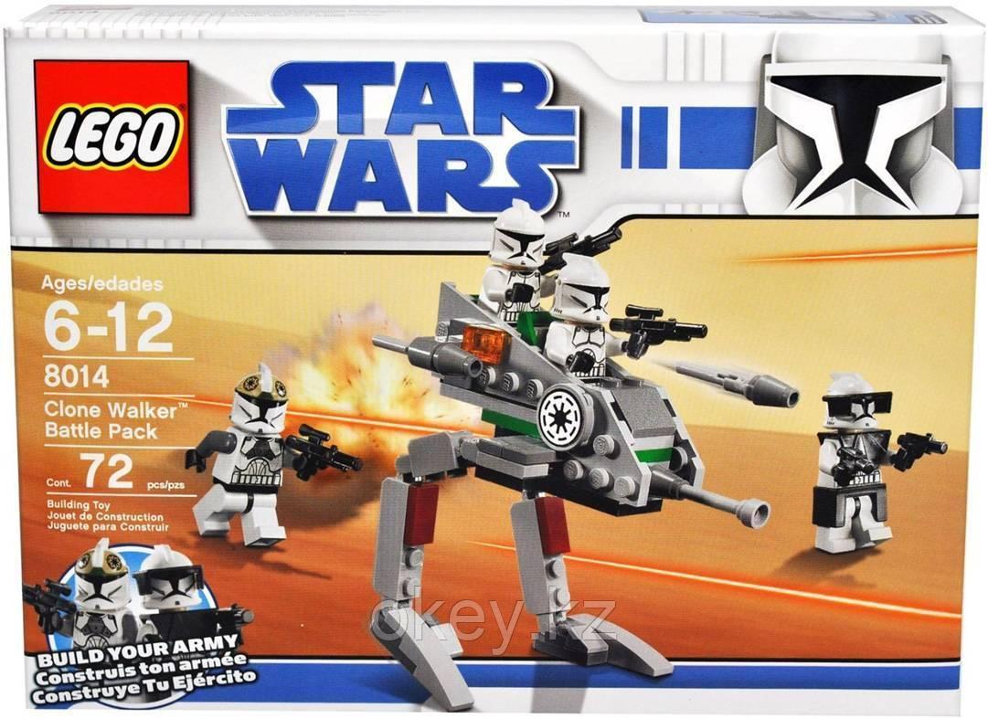 LEGO Star Wars: Шагающие роботы-клоны 8014
