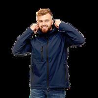 Куртка Softshell нового поколения с капюшоном, StanThermoWind, 71N, Тёмно-синий (46), S/46