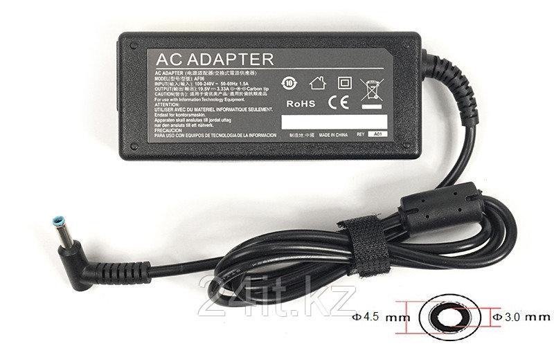 Блок питания для ноутбуков PowerPlant HP 220V, 65W: 19.5V, 3.33A