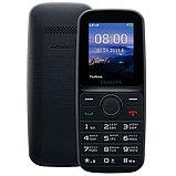 Мобильный телефон Philips E109 черный, фото 3