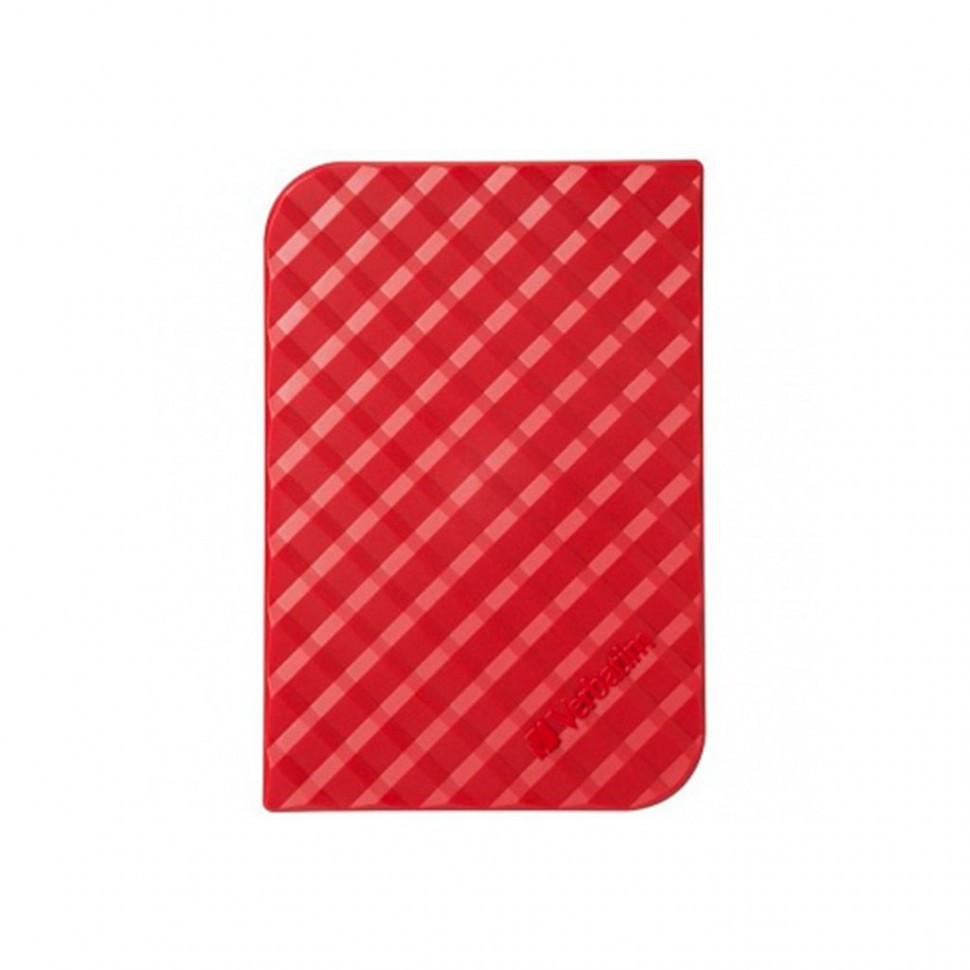 Внешний жесткий диск 2,5 1TB Verbatim 053203 красный
