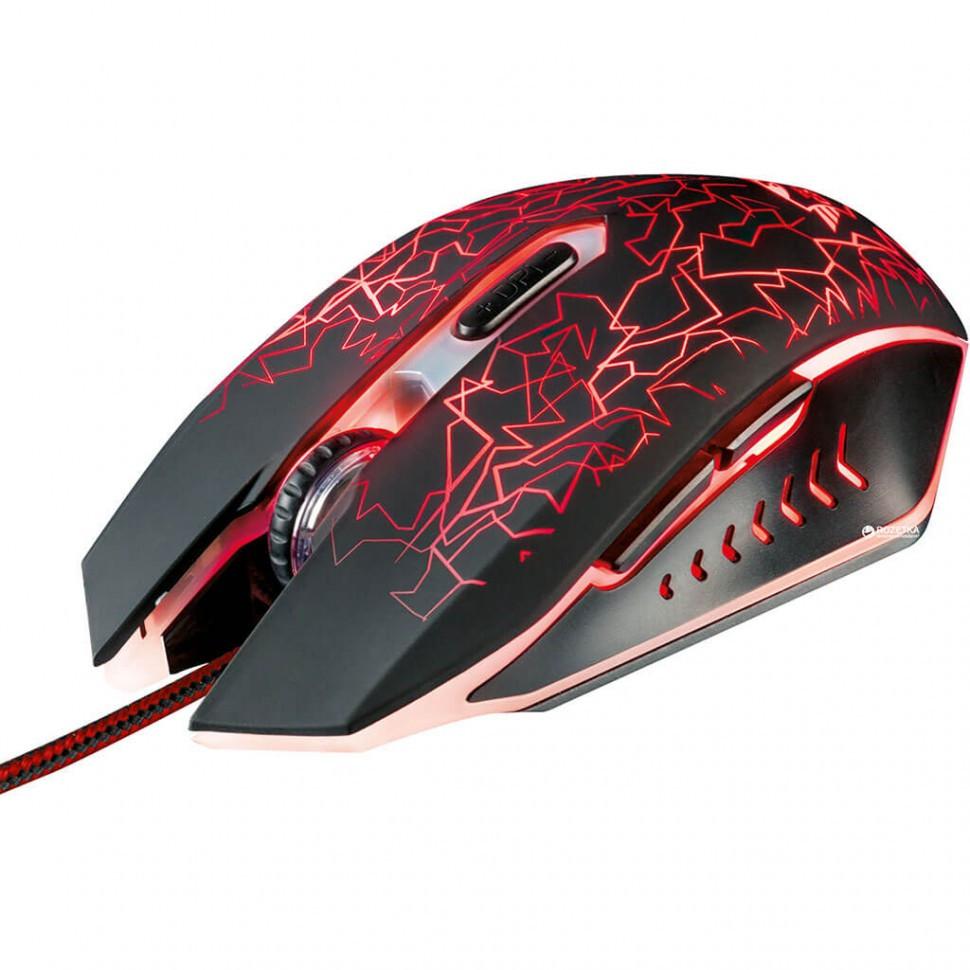 Компьютерная мышь Trust GXT105 черная