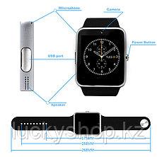 Умные часы GT08, цвет черный, фото 3