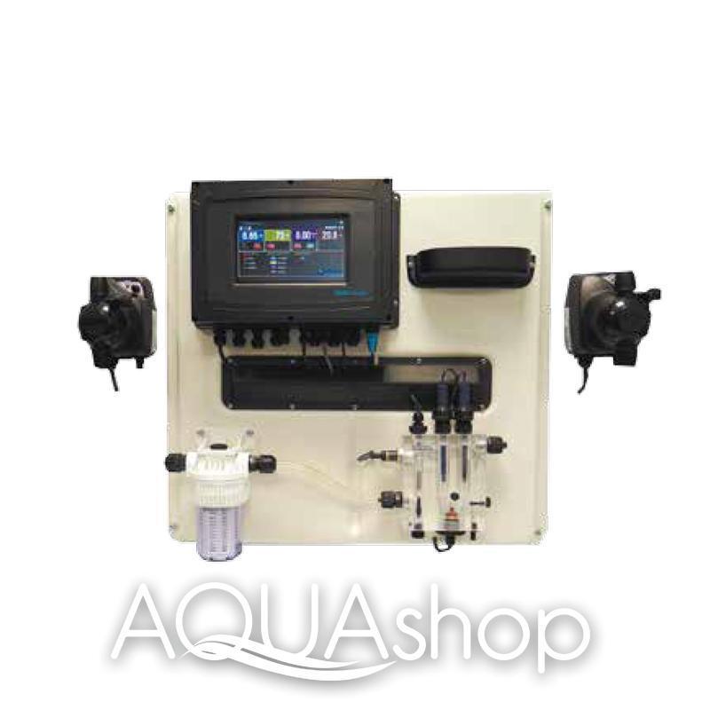 Станция контроля и коррекции A-POOL TOUCH + монтажный комплект. Бассейн до 5000 м3