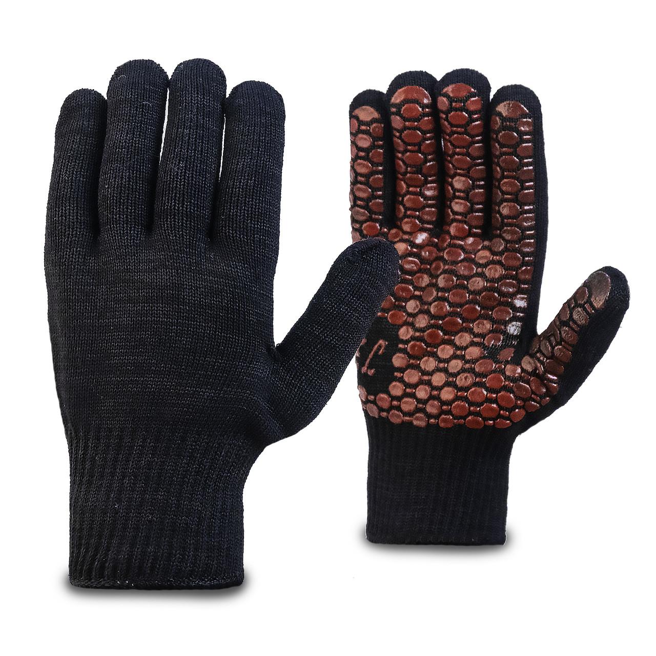 Перчатки трикотажные с силиконовым покрытием в Алматы