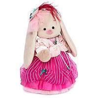 Мягкая игрушка 'Зайка Ми Барышня' в карамельно-розовом, 32 см