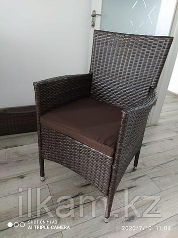 Мебельный комплект из ротанга обеденный,6 персон, фото 2