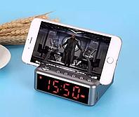 Часы-портативная колонка YCW HDY-G24  (USB, MicroSD, Bluetooth)