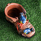 "Фигурное кашпо ""Ботинок с двумя птичками"" 18х14см МИКС, фото 7"