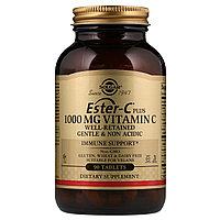 Ester-C plus, Solgar, 1000 мг, 90 таблеток (Витамин Эстер С плюс, Солгар 1000 мкг).