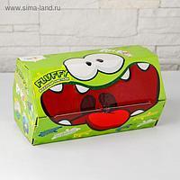 Воздушный пластилин для детской лепки «Fluffy» Ам Ням, МИКС