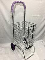 Хозяйственная сумка для продуктов на 2-х колесах.Высота 90 см, ширина 30 см,глубина 34 см., фото 1