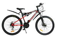 Велосипед Torrent SpeedFire (24 скорости, колеса 26д, рама алюминий, Black-Red)
