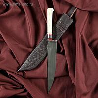 Нож Корд Куруш - средний, кость ёрма, гарда гравировка (15-16 см)