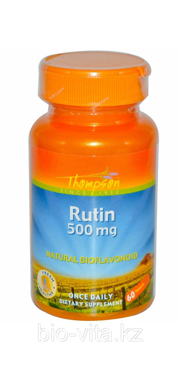 Рутин, 450 мг, 60 капсул. Thompson