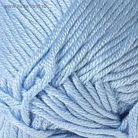"Пряжа ""Saten 50"" 100% микроакрил 115м/50гр (214 серо-голубой)"