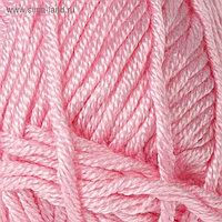 """Пряжа """"Saten 50"""" 100% микроакрил 115м/50гр (229 светло-розовый)"""