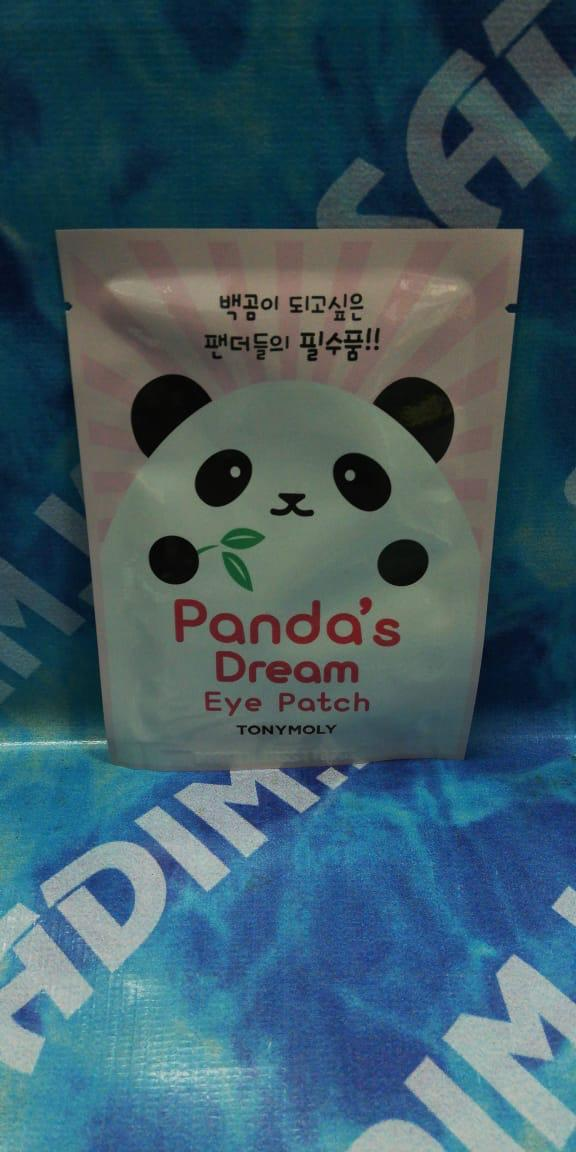 Tony Moly Panda's Dream Eye Patch, 2 шт Патчи для кожи вокруг глаз