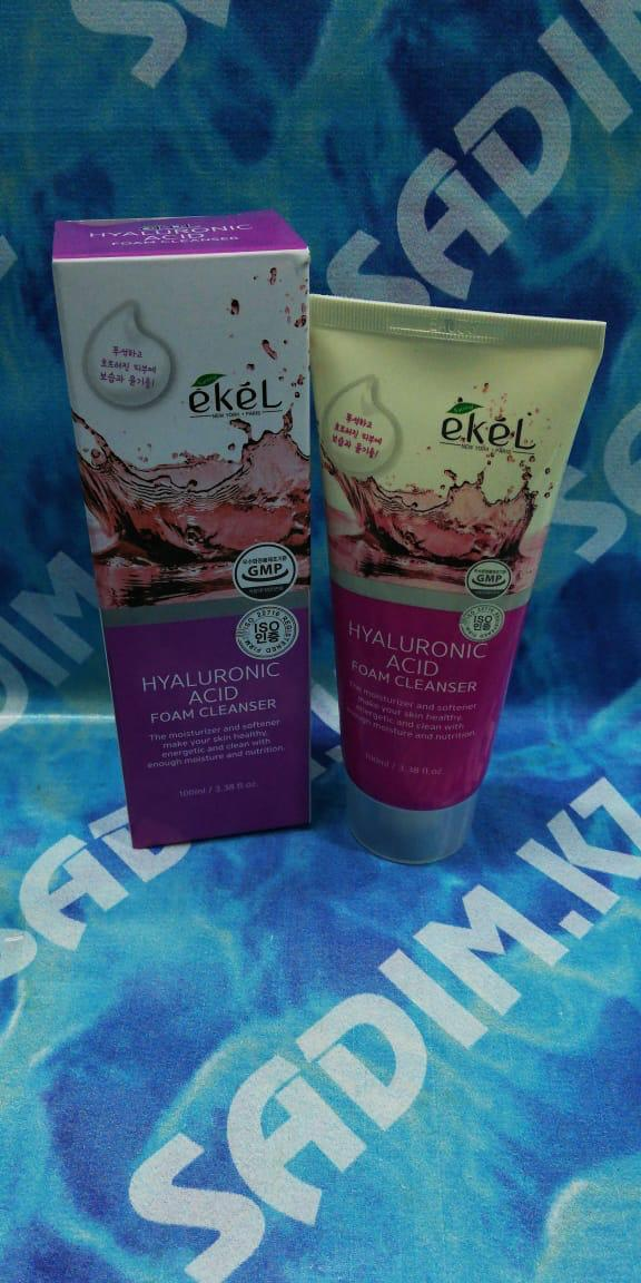 Ekel Hyaluronic Acid Foam Cleanser 100 мл Пенка для умывания с гиалуроновой кислотой