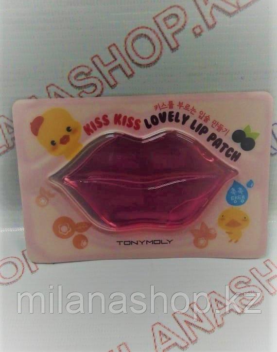 Tony Moly kiss kiss lovely lip patch - Патчи для губ