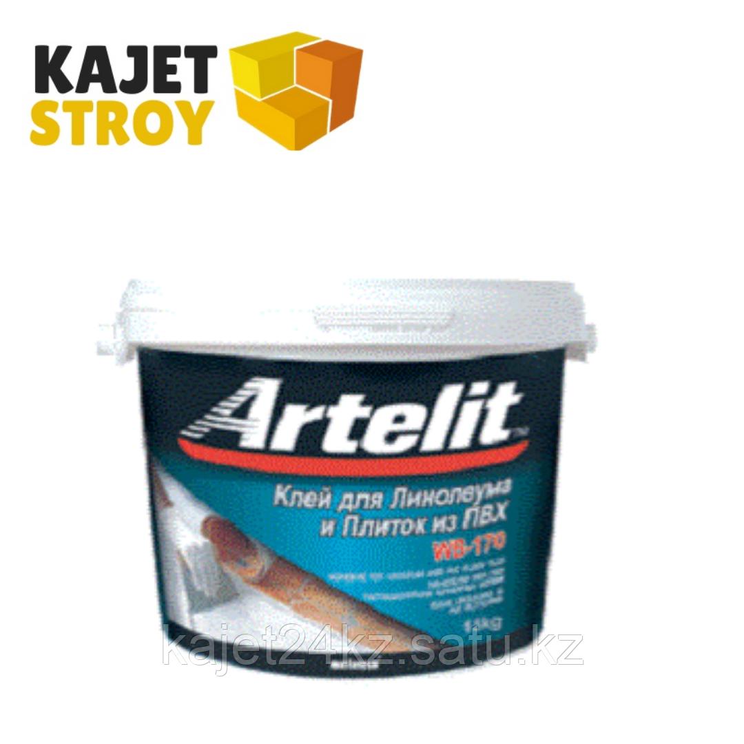 ARTELIT клей для линолеума и плиток ПВХ WB-170 25кг