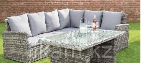 Комплект мебели из ротанга Серебро, фото 2