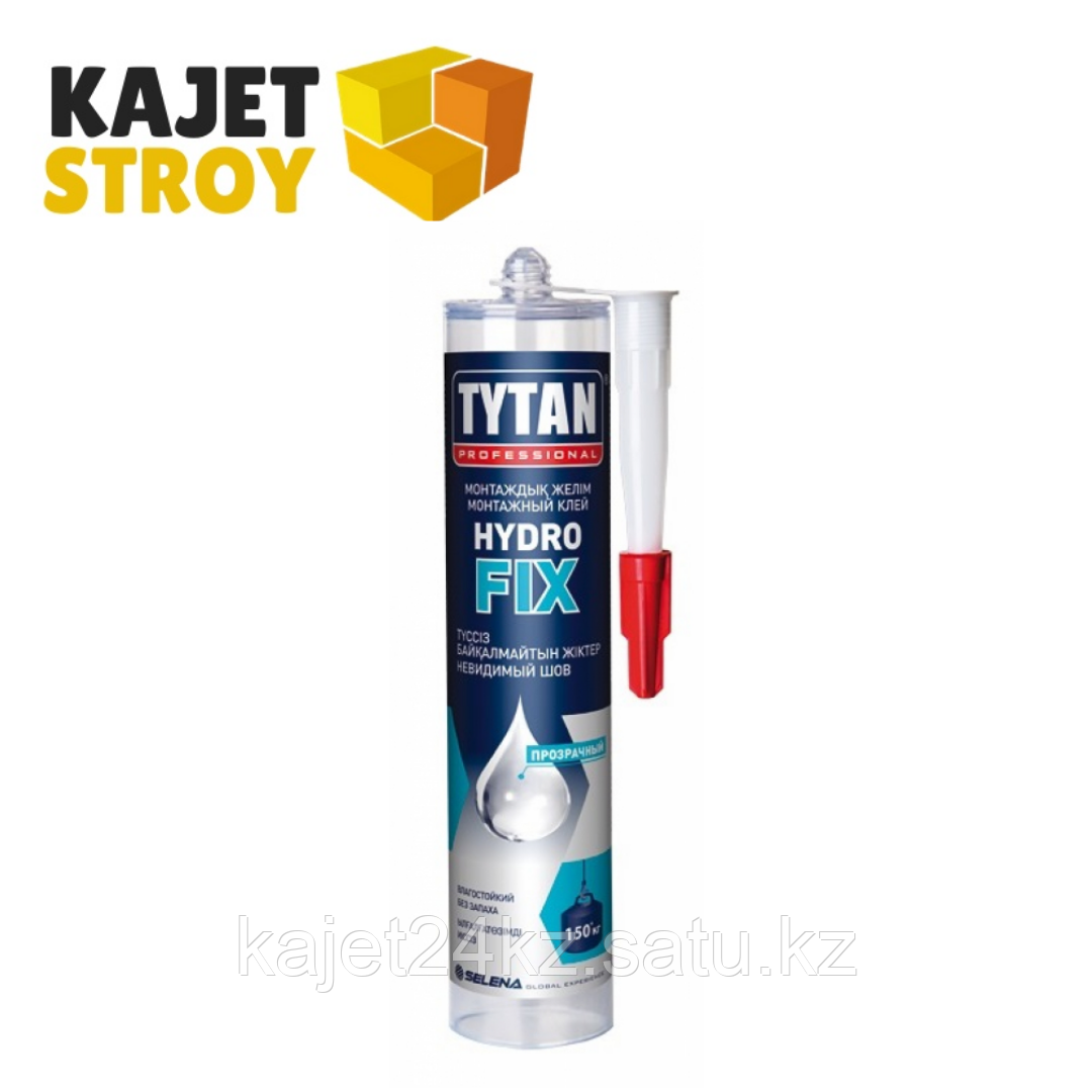 TYTAN клей монтажный  HYDRO FIX (310 мл)  бесцветный