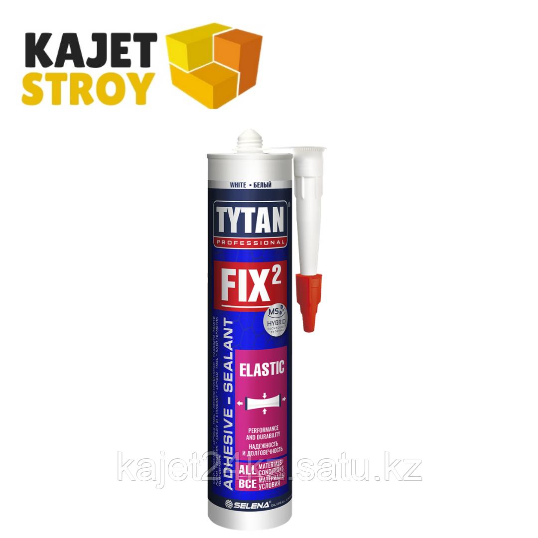 TYTAN клей монтажный Fix² Elastic, белый, 290 мл