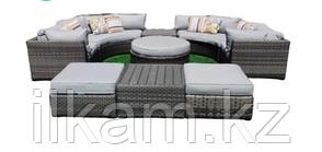 Комплект мебели из ротанга. Диванный модульный.
