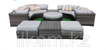 Комплект мебели из ротанга. Диванный модульный., фото 2