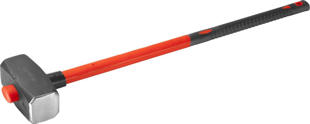 Кувалда c фиберглассовой рукояткой ЗУБР 8 кг (20111-8_z02)