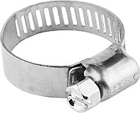 Хомуты ЗУБР 10-16 мм, нерж. сталь, просечная лента 8 мм (37811-10-16-200)