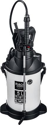 Опрыскиватель для работы с агрессивными химикатами RACO 5 л, Pro 500 (4240-54/500), фото 2