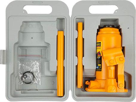Гидравлический бутылочный домкрат STAYER, 8 т, 200-385 мм, PROFI, кейс (43160-8-K), фото 2