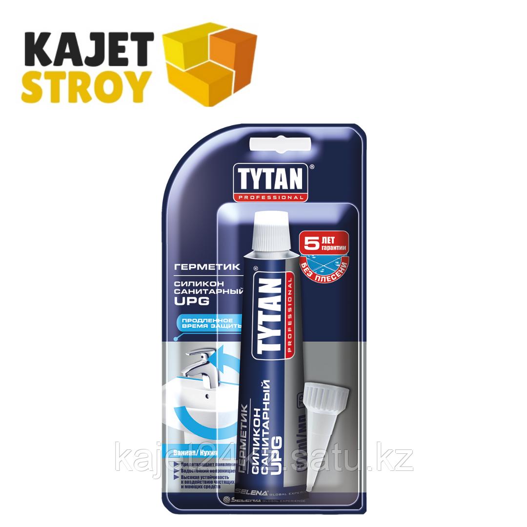 TYTAN герметик силиконовый санитарный UPG 280мл (белый,бесцветный)