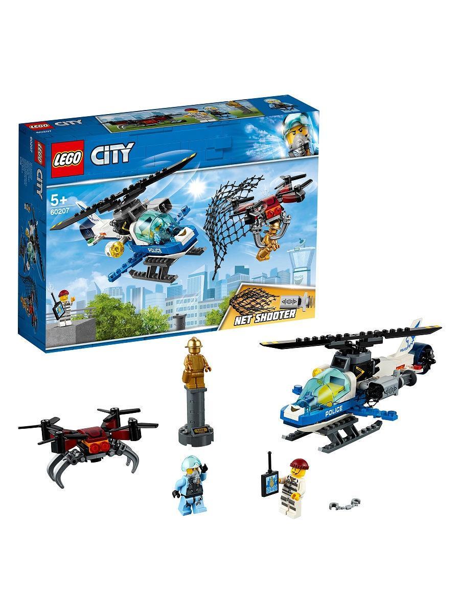 Конструктор Lego City Воздушная полиция: Погоня дронов