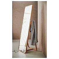 ИКОРННЕС Зеркало напольное, ясень, 52x167 см, фото 1