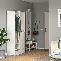САНДЛАНДЕТ Открытый гардероб, белый, 79x44x187 см, фото 1